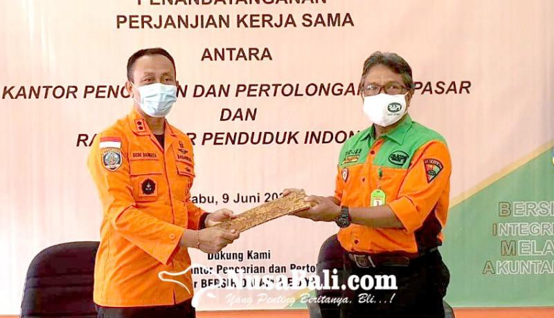 www.nusabali.com-permudah-operasi-sar-basarnas-gandeng-rapi