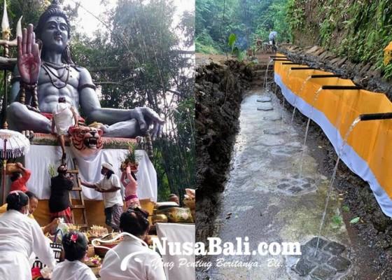 Nusabali.com - dilengkapi-patung-siwa-dan-45-pancoran-diproyeksi-jadi-ikon-wisata-spiritual