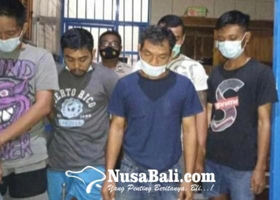 Nusabali.com - berkas-lima-tersangka-dilimpahkan-ke-jaksa