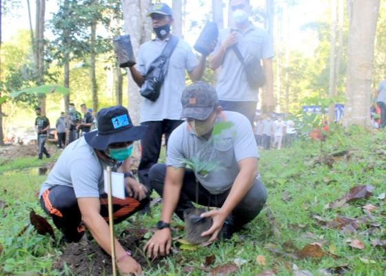 Nusabali.com - bulan-bung-karno-wabup-jembrana-tanam-pohon-tanaman-bumi-banten