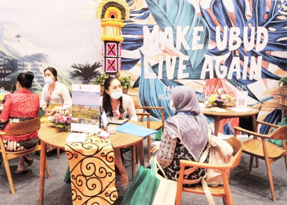 Nusabali.com - 145-sellers-ikuti-bb-travel-fair-2021
