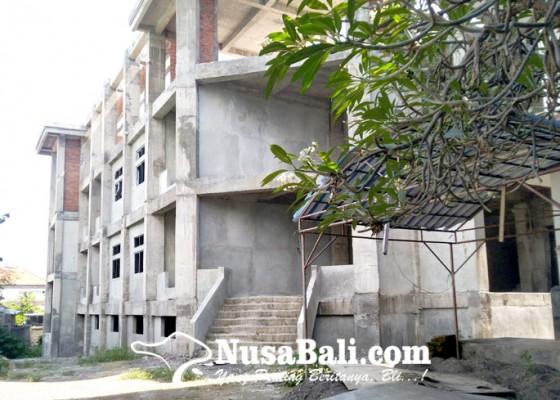 Nusabali.com - terkesan-mangkrak-pembangunan-dilakukan-bertahap