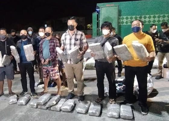 Nusabali.com - bnnp-bali-gagalkan-aksi-penyelundupan-44-kg-ganja