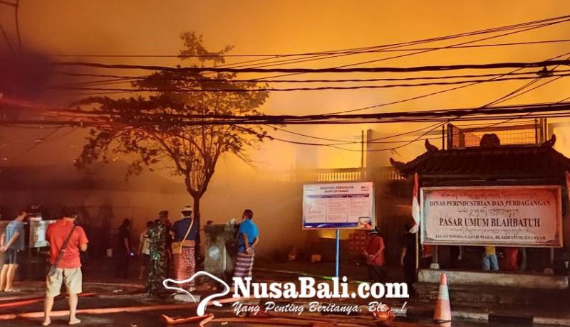 www.nusabali.com-pasar-umum-blahbatuh-gianyar-kebakaran