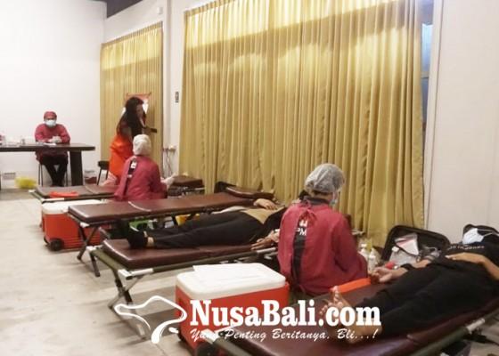Nusabali.com - pertiwi-bali-gelar-kegiatan-donor-darah