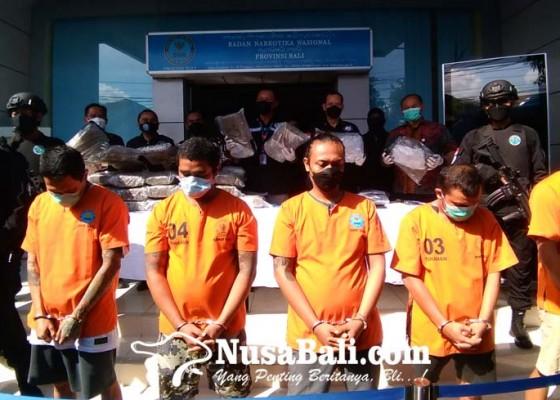 Nusabali.com - napi-lp-kerobokan-kendalikan-penyelundupan-50-kg-ganja