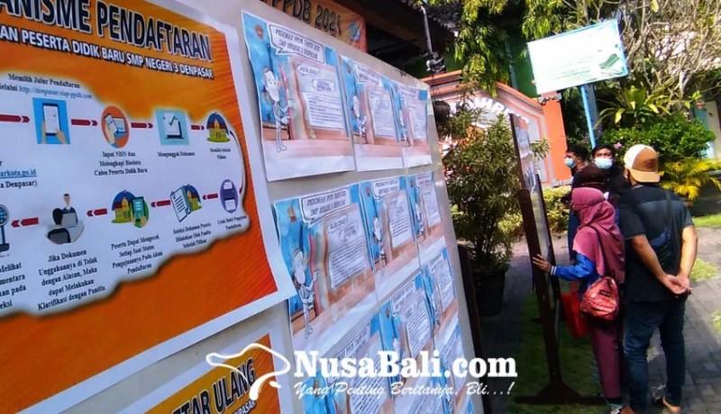 www.nusabali.com-hari-pertama-ppdb-smp-650-berkas-pendaftaran-ditolak