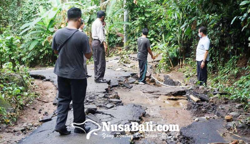 www.nusabali.com-ruas-jalan-di-banjar-telengan-rusak-tergerus-banjir