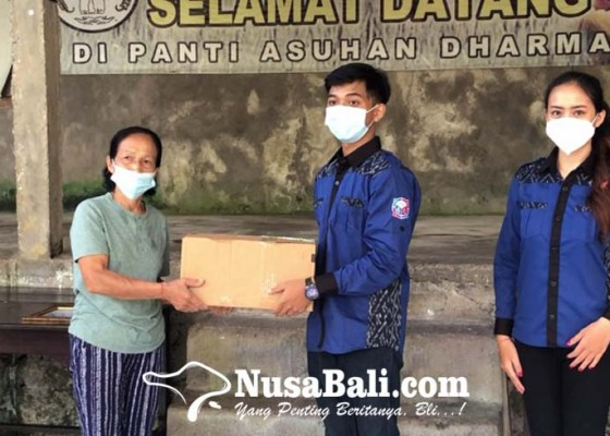 Nusabali.com - duta-genre-2021-stiki-indonesia-dan-pik-m-janadi-sahwahita-adakan-bakti-sosial-sebagai-wujud-kepedulian