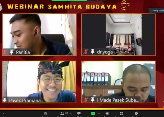 Nusabali.com - pasamuhan-agung-ii-pp-aphb-gelar-webinar-samhita-budaya