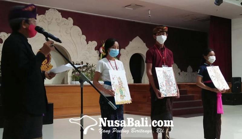 www.nusabali.com-klungkung-mendominasi-juara-seni-lukis-wayang-klasik-bali-di-pkb-xliii