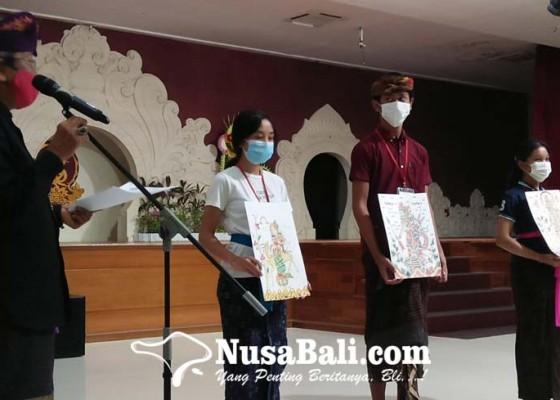 Nusabali.com - klungkung-mendominasi-juara-seni-lukis-wayang-klasik-bali-di-pkb-xliii
