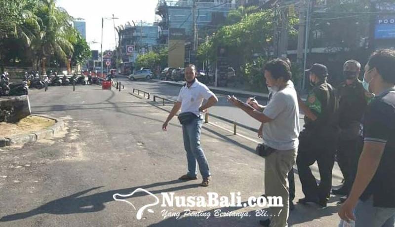 www.nusabali.com-kantong-parkir-disulap-jadi-tempat-berdagang