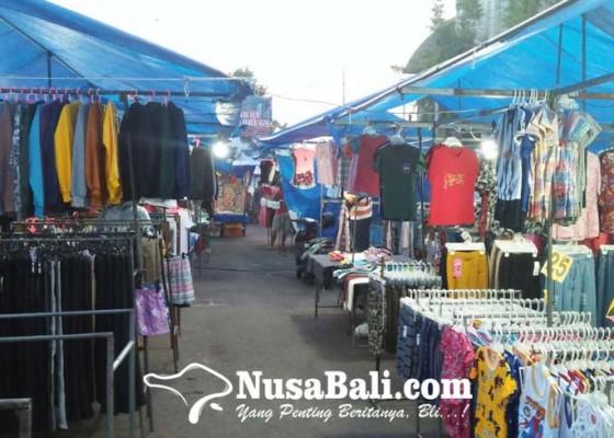 Nusabali.com - pasar-senggol-batubulan-tunggu-komando-pengetatan-ppkm-mikro