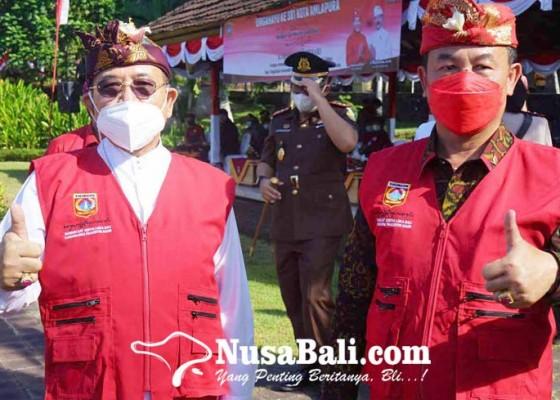 Nusabali.com - arta-dipa-resmi-jadi-kader-pdip