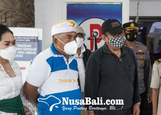 Nusabali.com - cok-ace-pantau-pemeriksaan-ppdn-di-pelabuhan-gilimanuk