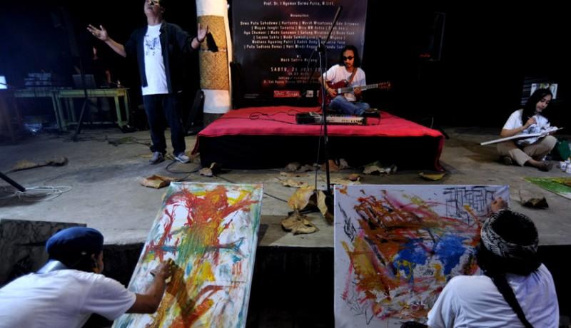 www.nusabali.com-seniman-lintas-media-saling-respons-hidupkan-interaksi-berkesenian