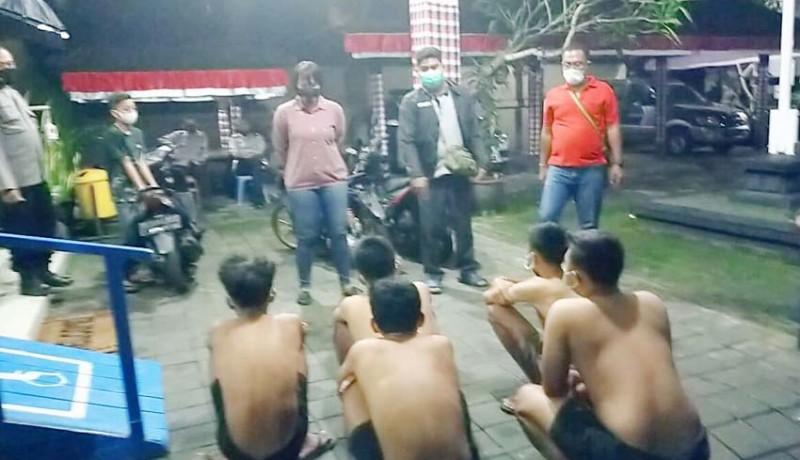 www.nusabali.com-nekat-balapan-liar-lima-pelajar-dijuk-polisi