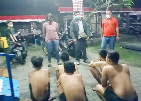 Nusabali.com - nekat-balapan-liar-lima-pelajar-dijuk-polisi