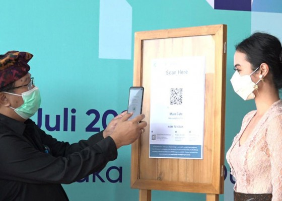 Nusabali.com - diluncurkan-di-nusa-dua-aplikasi-peduli-lindungi-perkuat-tracking-dan-contact-tracing-covid-19