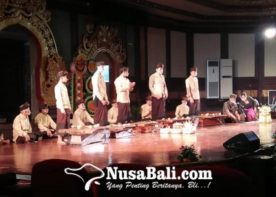 Nusabali.com - sanggar-seni-kebo-iwa-pergelarkan-dan-perkenalkan-gambang-kwanjisempidi