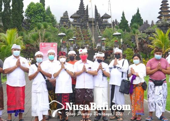 Nusabali.com - gubernur-sosialisasi-proyek-tahap-i-penataan-kawasan-besakih-rp-908-miliar