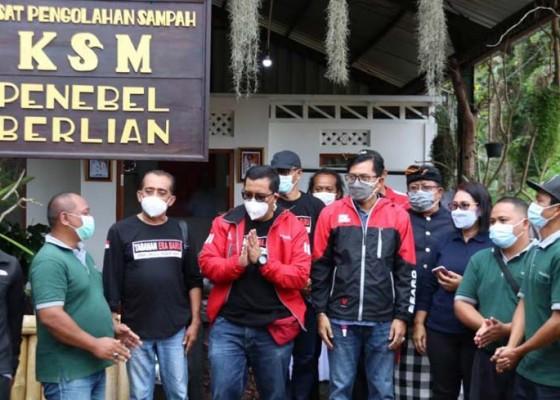 Nusabali.com - bupati-sanjaya-tinjau-pengelolaan-sampah-di-penebel