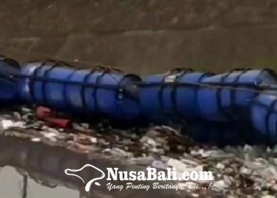 Nusabali.com - darurat-sampah-trash-walker-di-taman-pancing-sampai-terbalik