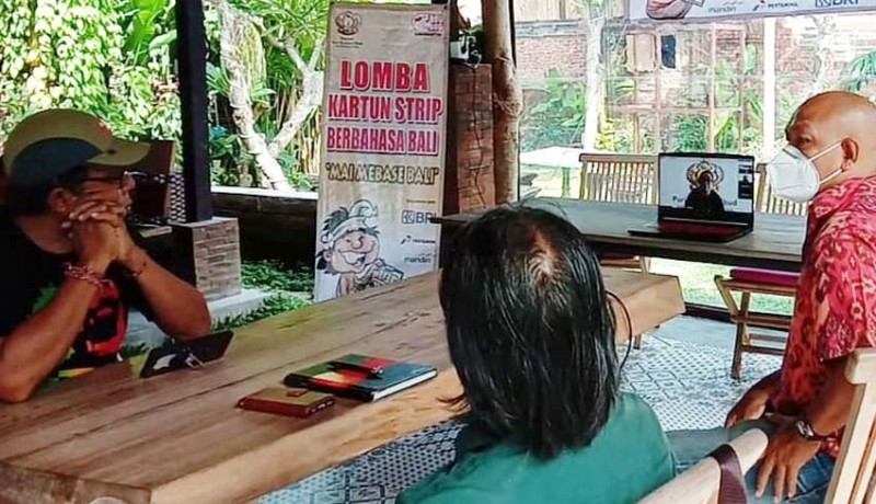 www.nusabali.com-yayasan-puri-kauhan-ubud-gelar-lomba-kartun-strip-berbahasa-bali-pertama-di-bali