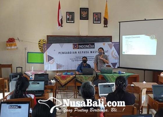 Nusabali.com - pelatihan-media-pembelajaran-online-di-sd-negeri-2-kawan
