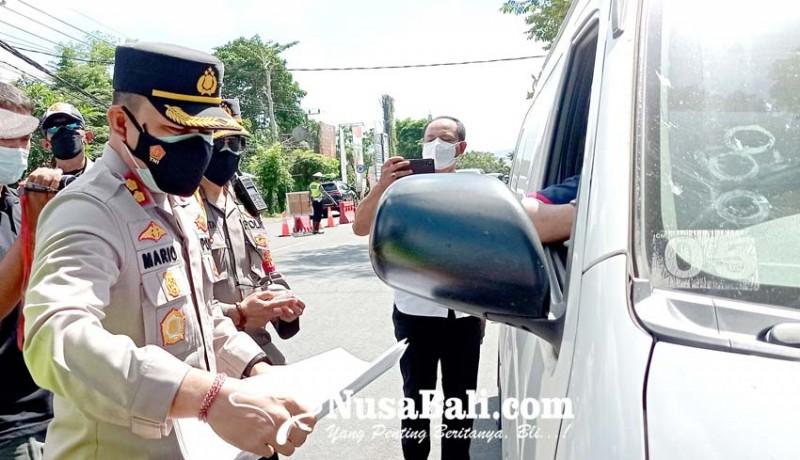 www.nusabali.com-tujuan-beli-makan-empat-kendaraan-diputar-balik