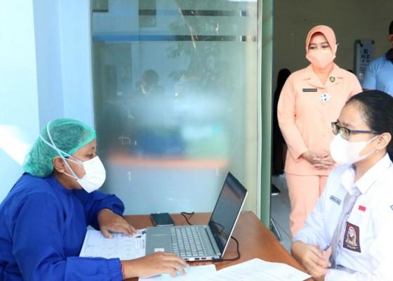 Nusabali.com - lanud-ngurah-rai-vaksin-89-anak-anak