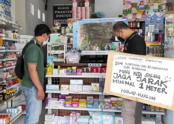 Nusabali.com - polres-bangli-cek-apotek-pastikan-ketersediaan-obat-aman
