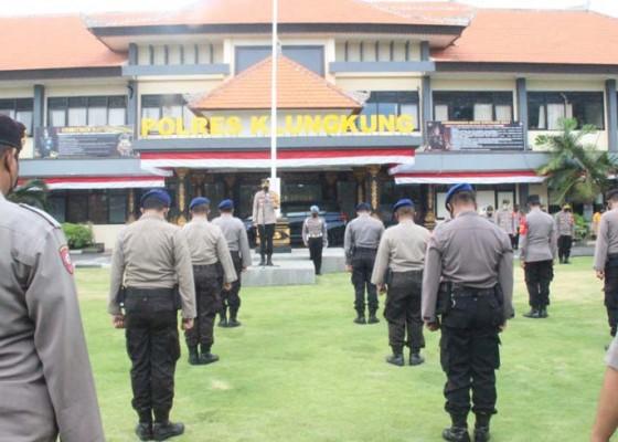 Nusabali.com - kapolres-klungkung-pimpin-doa-hening-cipta-indonesia