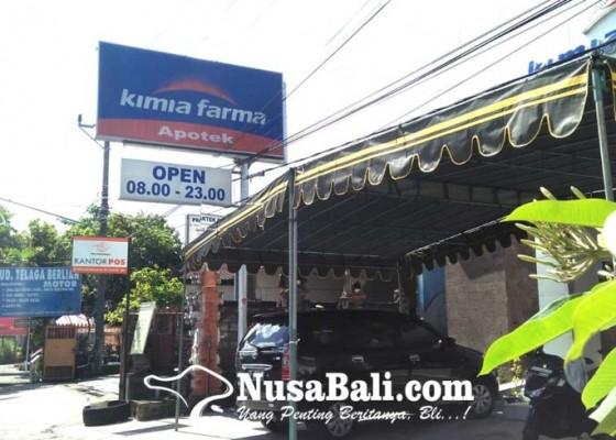 Nusabali.com - tenda-sudah-dipasang-vaksinasi-individu-di-kimia-farma-batubulan-ditunda