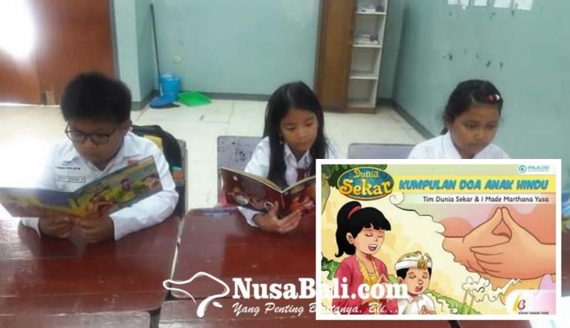 www.nusabali.com-buku-kumpulan-doa-anak-hindu-ini-memudahkan-anak-anak-menghafal-doa