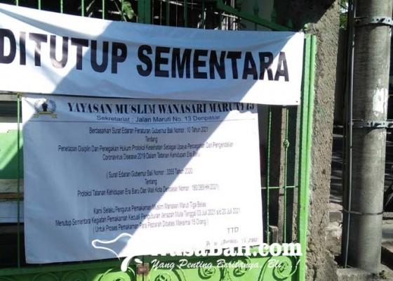 Nusabali.com - tpu-wanasari-batasi-jumlah-pengantar-prosesi-pemakaman
