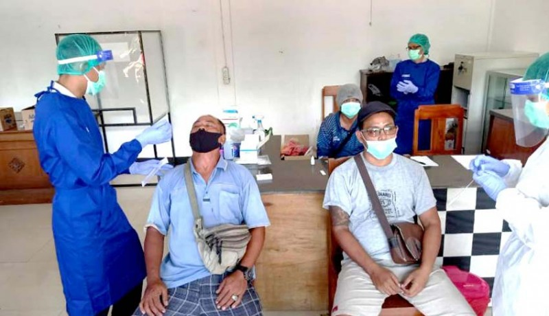 www.nusabali.com-sopir-dan-kernet-angkutan-logistik-gratis-rapid-test-antigen
