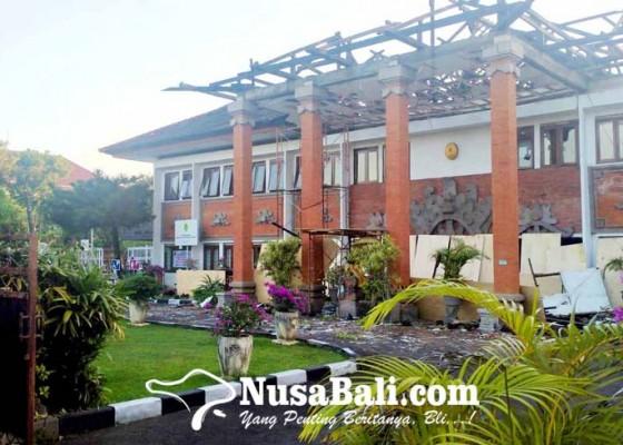 Nusabali.com - gedung-pn-denpasar-direnovasi-siapkan-parkir-bertingkat