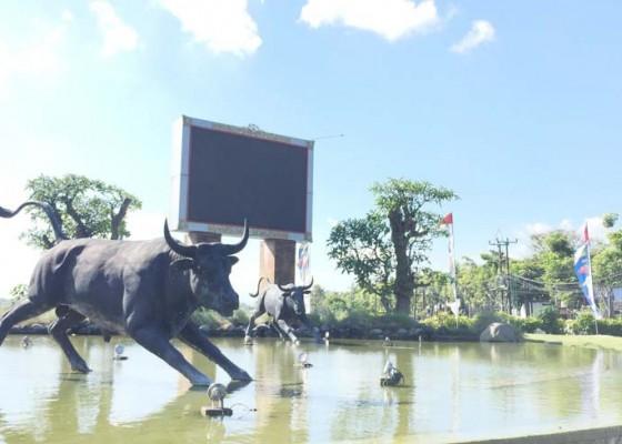 Nusabali.com - videotron-di-puspem-badung-rusak