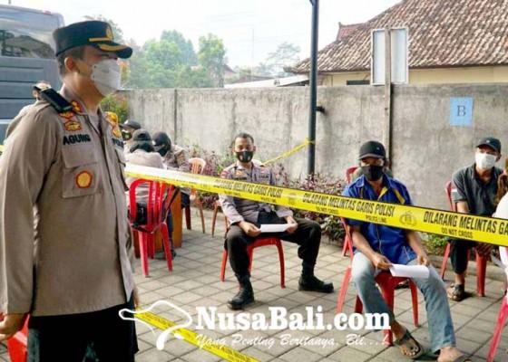 Nusabali.com - polres-bangli-perpanjang-layanan-gerai-vaksin-presisi