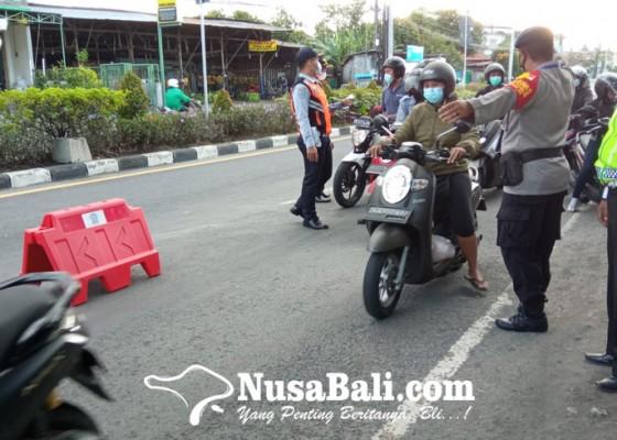 Nusabali.com - ppkm-darurat-98-kendaraan-diputar-balik