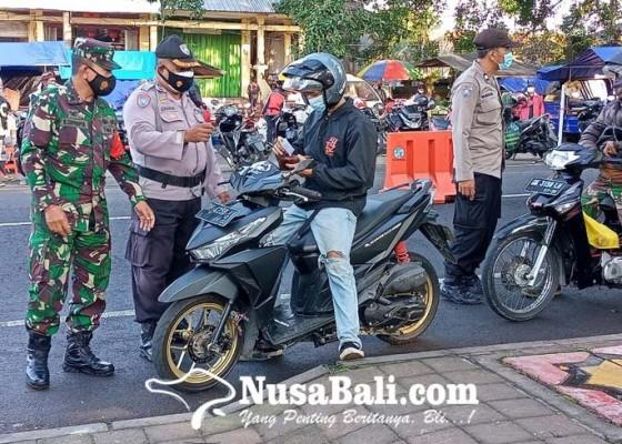 Nusabali.com - lintasan-kabupaten-penyekatan-di-payangan-sehari-tiga-kali