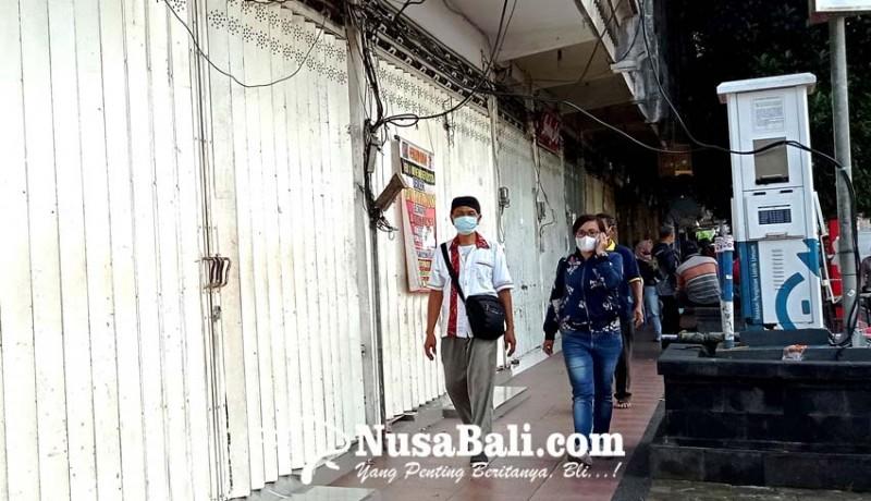www.nusabali.com-ppkm-darurat-retribusi-pasar-di-tabanan-makin-anjlok