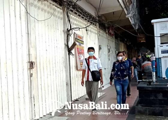 Nusabali.com - ppkm-darurat-retribusi-pasar-di-tabanan-makin-anjlok