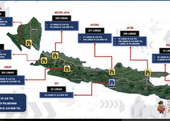 Nusabali.com - korlantas-polri-berlakukan-penyekatan-di-1038-titik-pada-16-23-juli-2021