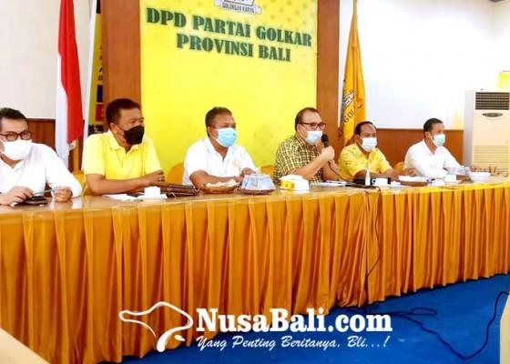 Nusabali.com - golkar-fasilitasi-petani-di-tengah-pandemi-covid-19