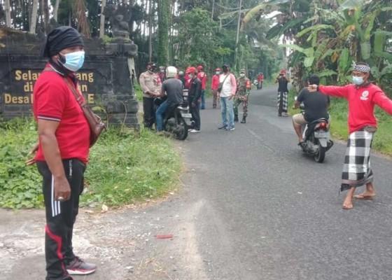 Nusabali.com - kelurahan-beng-gelar-penyekatan
