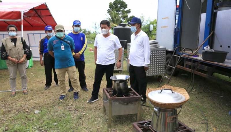 www.nusabali.com-klungkung-siapkan-dapur-umum-bali-timur