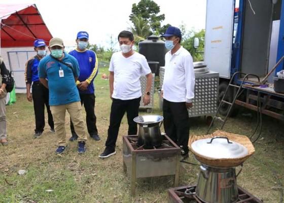 Nusabali.com - klungkung-siapkan-dapur-umum-bali-timur